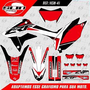 Adesivo Honda Factory  - 250F NACIONAL