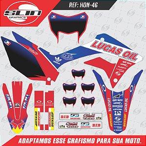 Adesivo Lucas Oil Pro Motocross National - 250F NACIONAL