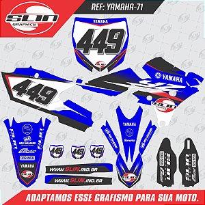Adesivo Yamaha YZF 250/450 - Edição Especial Slin Graphics