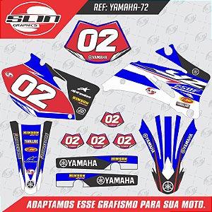 Adesivo Yamaha WRF 250/450 - Racing Red