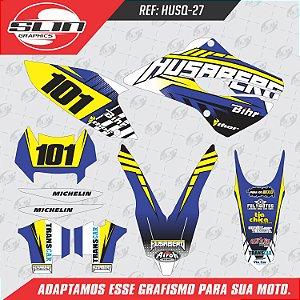 Adesivo Husaberg Racing Enduro Bihr