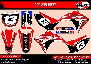 Adesivo Honda Racing Camuflado