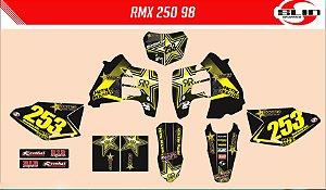 Adesivo Suzuki Rmx 250 - Rockstar Energy Drink #2