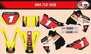 Adesivo Suzuki Rmx 250 - Makita Rockstar