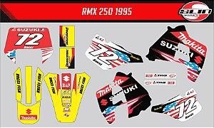 Adesivo Suzuki Rmx 250 - Motocross das Nações