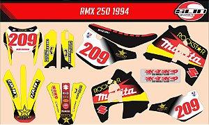 Adesivo Suzuki Rmx 250 - Makita Rockstar 2