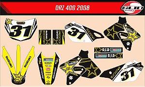Adesivo Suzuki DRZ 400 Rockstar Energy Black Edition