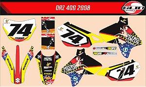Adesivo Suzuki DRZ 400 Nitro Circus
