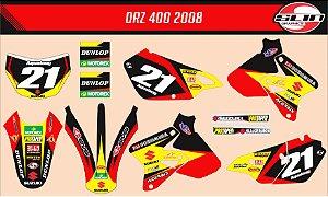 Adesivo Suzuki DRZ 400 Yoshimura Racing Mx