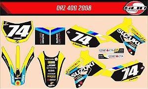 Adesivo Suzuki DRZ 400 Team Jgr Ama Motocross