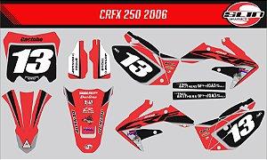 Adesivo Honda Crf 250x - Réplica Ken Rozen