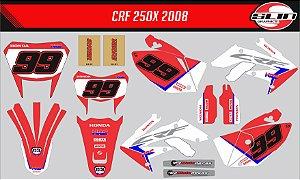 Adesivo Honda Crf 250x - Hrc Enduro Racing Team + Adesivo Suspensão
