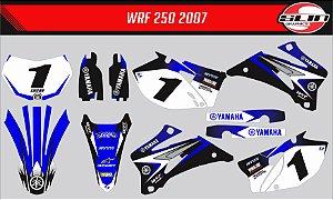 DUPLICADO - Adesivo Yamaha WRF 250/450 - Blue Racing Design