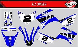 Adesivo Yamaha XTZ 125/250 - Yamaha Standard
