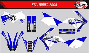 Adesivo Yamaha XTZ 125/250 - Yamaha Standard #2