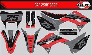 Adesivo Honda Crf 250f 21 Nacional - Racing Fire