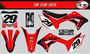 Adesivo Honda Crf 250f 21 Nacional - Fox Racing Edition