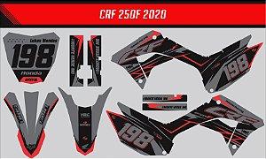 Adesivo Honda Crf 250f 21 Nacional - Neon Racing Style
