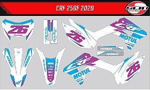 Adesivo Honda Crf 250f 21 Nacional - Motul Racing Clean