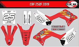 Adesivo Honda Crf 250f 21 Nacional - Pica Pau Racing Edition