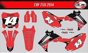 Adesivo Honda Crf 250r - RacerX Magazine Edition