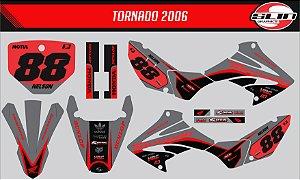 Adesivo Honda Xr 250 Tornado - Black Stand Racing