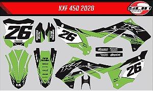 Adesivo Kawasaki Kxf 450 - Line Racing Special Edition