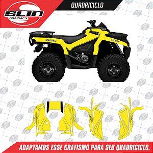 Adesivo Quadriciclo - Can-Am Drop Racing