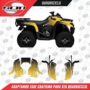 Adesivo Quadriciclo - Can-Am Rino Start