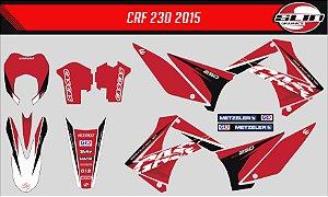 Adesivo Gas Gas 250ec 2015  - Red Moto Team Racing