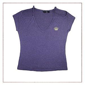 Camiseta Roxa Adidas