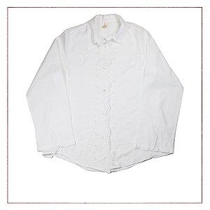 Camisa Branca Victoriajess Importada