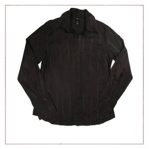 Camisa Marrom H&M