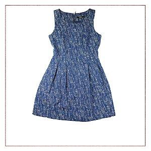 Vestido Azul Next