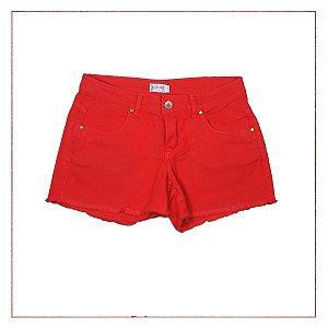 Shorts Vermelho Salinas
