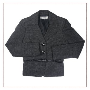 Blazer Tweed Tahari