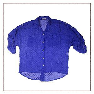 Camisa Azul Midri