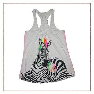 Blusa Carmim Zebra