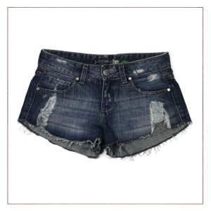 Shorts Jeans Costume Bolso
