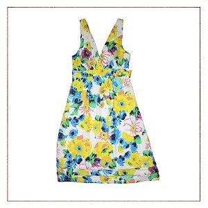 Vestido Floral Brilho