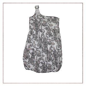 Vestido Floral Ombro