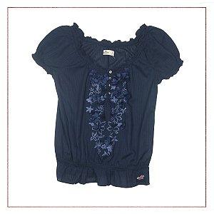 Blusa Flores Hollister