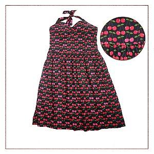 Vestido Vintage Cerejas