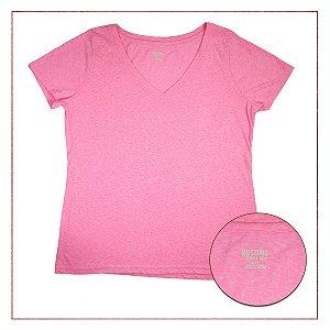 Camiseta Importada Rosa Mescla