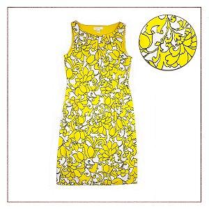 Vestido Importado London Times Flores