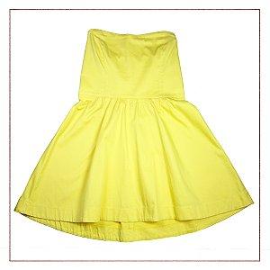 Vestido Tomara que Caia Amarelo Insp
