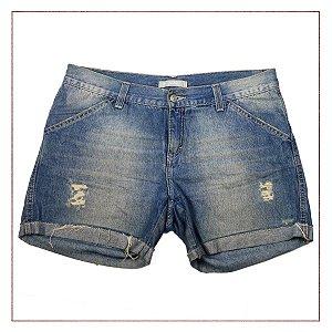 Shorts Jeans Esquire desfiado