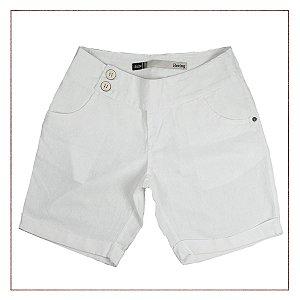 Shorts Hering Branco