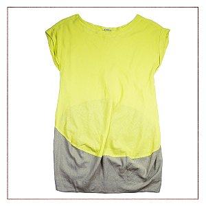 Vestido Cantão Verde Limão