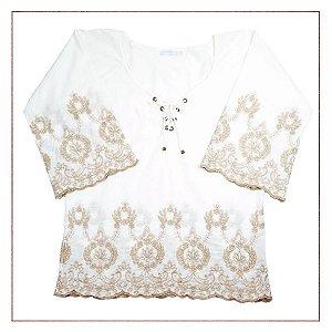 Blusa Le Lis Blanc Bordado